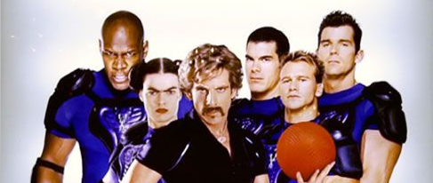 dodgeball a true underdog story movie poster rare promo globo gym ben stiller one sheet movie poster