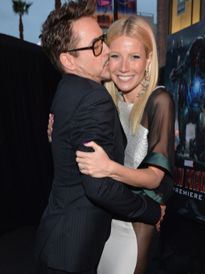 robert downey jr. Gwyneth Paltrow on the red carpet at the iron man 3 world movie premiere hot sexy tony stark pepper potts