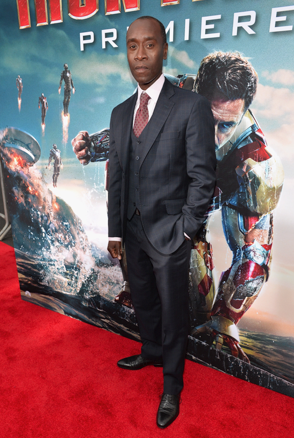 don cheadle on the red carpet at the iron man 3 world movie premiere hot sexy tony stark pepper potts