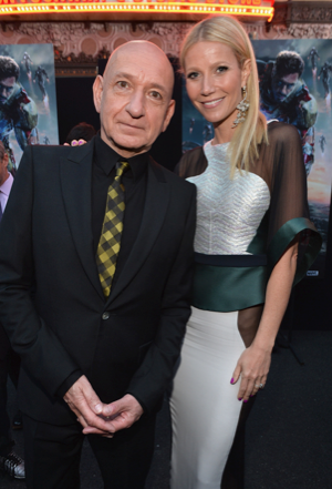 ben kingsley Gwyneth Paltrow on the red carpet at the iron man 3 world movie premiere hot sexy tony stark pepper potts