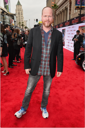 joss whedon on the red carpet at the iron man 3 world movie premiere hot sexy tony stark pepper potts