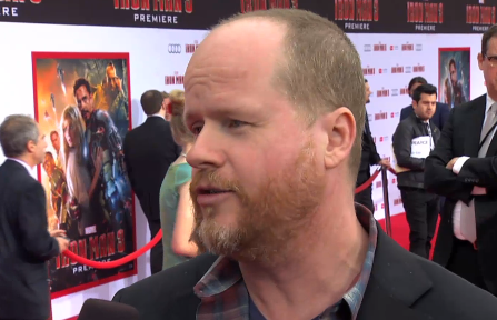 joss whedon on the red carpet iron man 3 world movie premiere