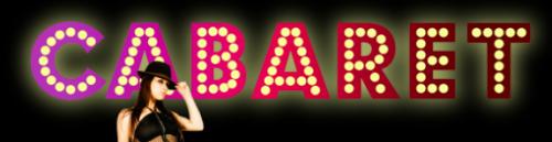 cabaret title logo rare new broadway revival hot promo