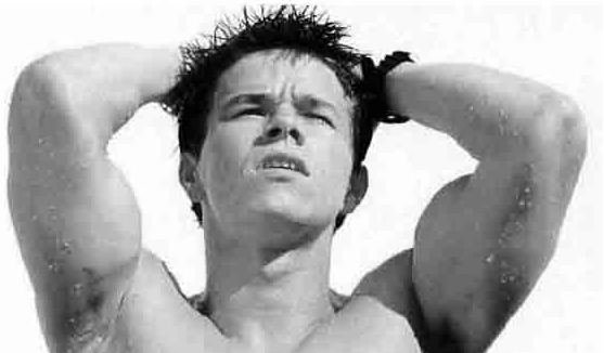 Marky Mark hot sexy shirtless naked rare armpit muscle rare promo marky mark wahlberg good vibrations walk on the wildside calvin klein underwear