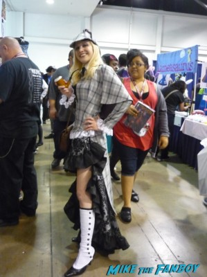She-lock Holmes cosplay wondercon 2013 sherlock holmes cosplayed rare