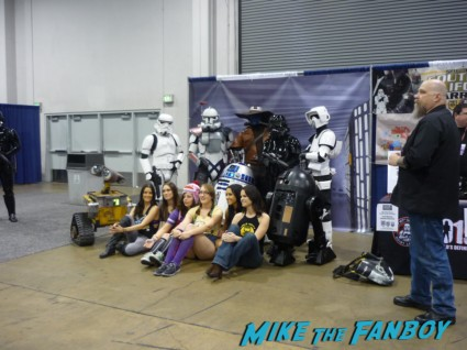 Star Wars cosplay wondercon 2013 Star Wars characters you could pay to pose with…