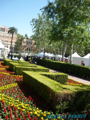 USC shrubbery the los angeles times festival of books game plan alicia the book the novel strumpet los angeles times festival of books rare promo hot