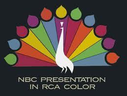 NBC retro peacock logo rare promo press still rca logo hot