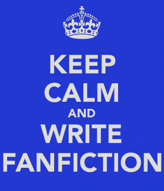 keep calm and write fan fiction rare promo logo hot sexy rare