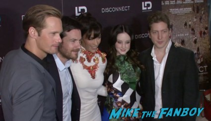 disconnect movie premiere new york red carpet alexander skarsgard jason bateman (8)