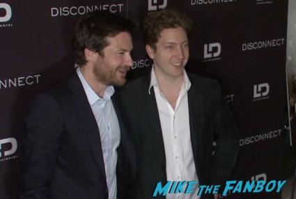 disconnect movie premiere new york red carpet alexander skarsgard jason bateman