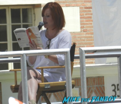 molly ringwald doing a book reading at the festival of books 2013 debbie reynolds 003