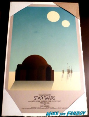 star wars rare promo art poster tatoine rare promo photo hot rare concept art rare promo movie poster one sheet hot people dumpster diving for burt wonderstone posters waiting in line for harrison ford to diss a crowd of 60 people after jimmy kimmel live rare signature
