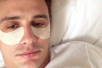 james franco selfie photo rare promo hospital bed hot rare