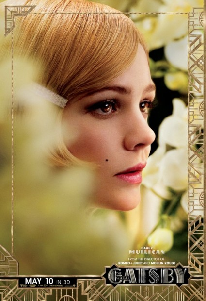 The Great Gatsby individual movie poster carey mulligan rare promo baz luhrmann promo one sheet poster movie