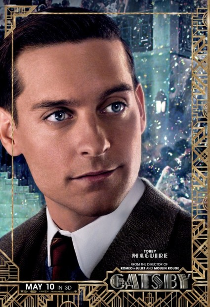 The Great Gatsby individual movie poster Tobey Maguire rare promo baz luhrmann promo one sheet poster movie