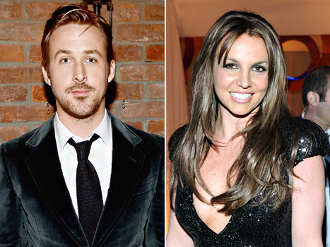 ryan gosling and britney spears playing spin the bottle hot sexy duro