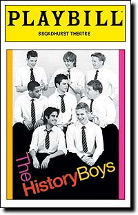 the history boys playbill promo cover hot rare richard griffiths