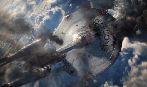 USS Enterprise damaged star trek into darkness rare promo photo still poster rare hr_Star_Trek_Into_Darkness_23-550x366-550x364