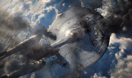 USS Enterprise damaged star trek into darkness rare promo photo still poster rare hr_Star_Trek_Into_Darkness_23-550x366-550x364