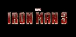 iron man 3 rare logo press promo photo poster rare