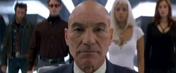 x men the last stand patrick stewart rare promo photo hot rare professor x new cast photo