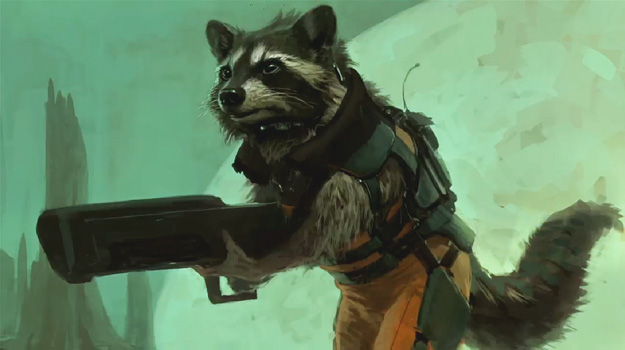 The Guardians Of The Galaxy Concept Art behind the scenes still rare promo hot rare marvelphasetwopreview8
