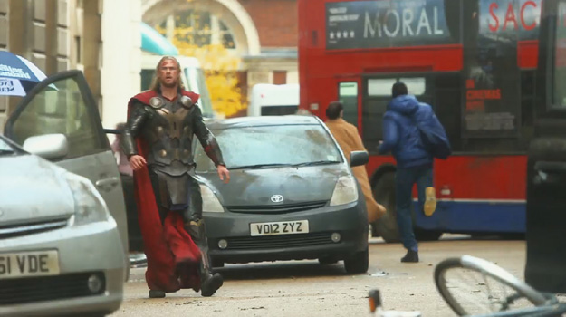 Thor: The Dark World Concept Art behind the scenes still rare promo hot rare marvelphasetwopreview8