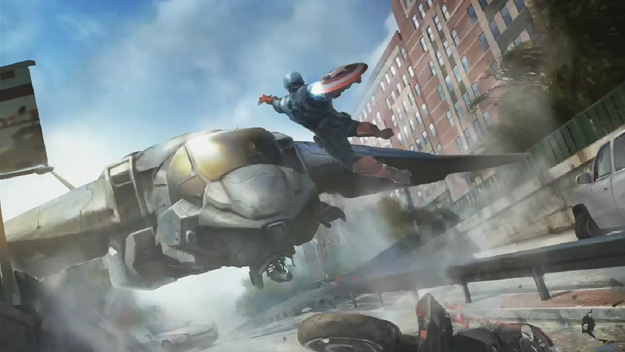Captain America The Winter Solder Concept Art behind the scenes still rare promo hot rare marvelphasetwopreview8