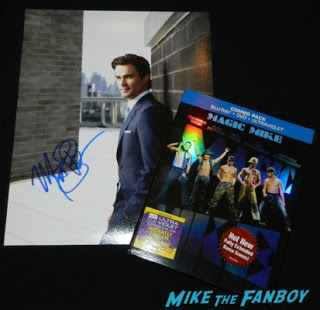 matt bomer signed autograph photo rare white collar magic mike blu ray Matt Bomer sexy hot muscle shirt magic mike photo rare armpit sex rare white collar