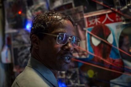 max_dillon jamie foxx electro the amazing spiderman 2 electro press promo still rare hot rare