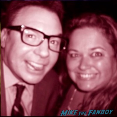 Mike Myers fan photo rare signing autographs for fans rare promo wayne's world austin powers rare