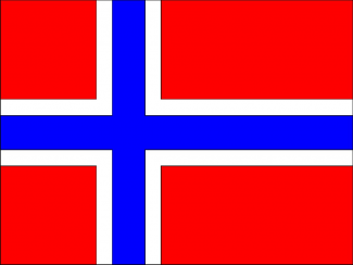 norway flag rare promo hot dance