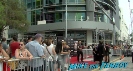 pain and gain movie premiere miami mark wahlberg hot sexy signing autographs