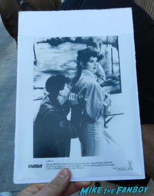patrick dempsey horrible loverboy photo rare promo kristie alley elisabeth moss signing autographs for fans 007