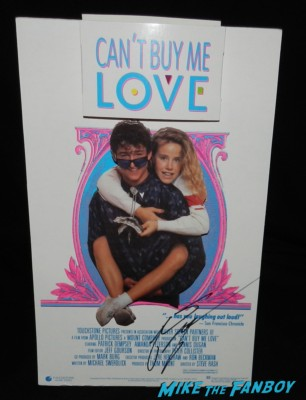 patrick dempsey signed autograph can't buy me love counter standee rare promo hot movie poster promo hot ronald miller