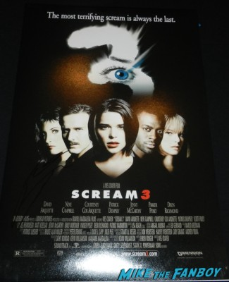 patrick dempsey signed autograph scream 3 mini poster promo hot elisabeth moss signing autographs for fans 025