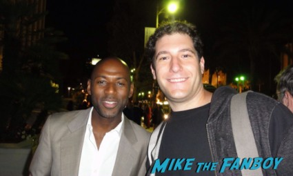 romany malco fan photo signing autographs for fans rare promo weeds star