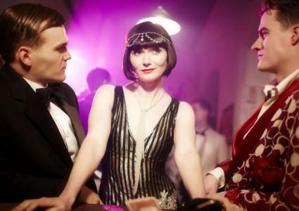 Essie Davis in Miss Fisher's Murder Mysteries promo photo still hot sexy rare phryne in nightclub ep 3