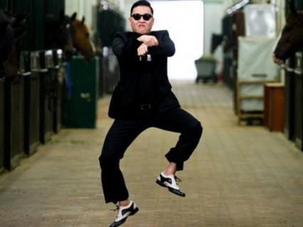 psy Gangnam Style goofy dance dork boy