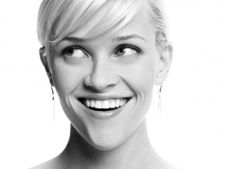 reese witherspoon hot sexy black and white photo promo press still dance hot