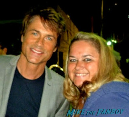 rob lowe fan photo signing autographs for fans hot rare wayne's world star