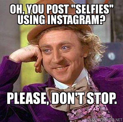 gene wilder willy wonka selfie photo rare hot sexy promo meme rare