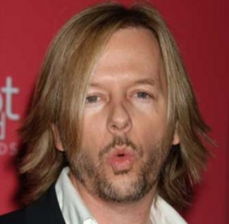 david spade rare promo headshot rare dance blowing kisses hot