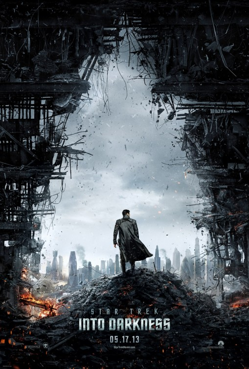star_trek_into_darkness star trek into darkness rare one sheet movie poster promo hot sexy chris pine