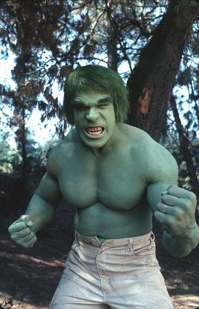 lou ferrigno the incredible hulk promo photo green monster muscle stud promo still photo