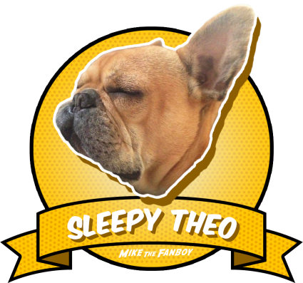 Sleepy Theo Award adorable brown french bulldog rare