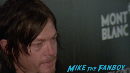 norman reedus on the red carpet at the trance movie premiere new york red carpet photos rosario dawson