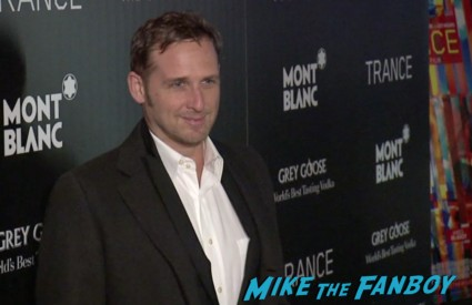 josh lucas on the red carpet at the trance movie premiere new york red carpet photos rosario dawson