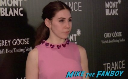 Zosia Mamet on the red carpet at the trance movie premiere new york red carpet photos rosario dawson (17)